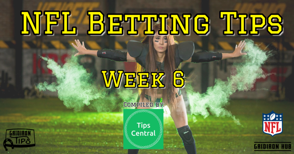 Betting tips nfl week 6 online sports betting regulation d
