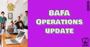 BAFA Ops Update