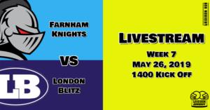 Knights V Blitz Livestream