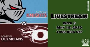 Knights v Os Livestream