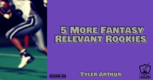 5 More Rookies