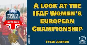 IFAF Womens 2019