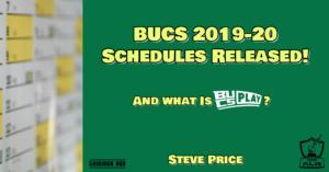 BUCS 2019-20 Schedules Released