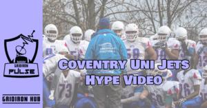 Cov Uni Jets Hype Video