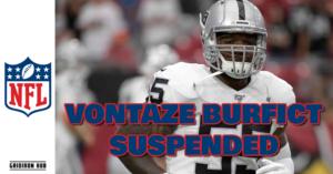 Burfict Suspended