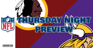 2019 Week 8 Thurs Night Preview