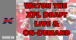 XFL Draft Live 2019