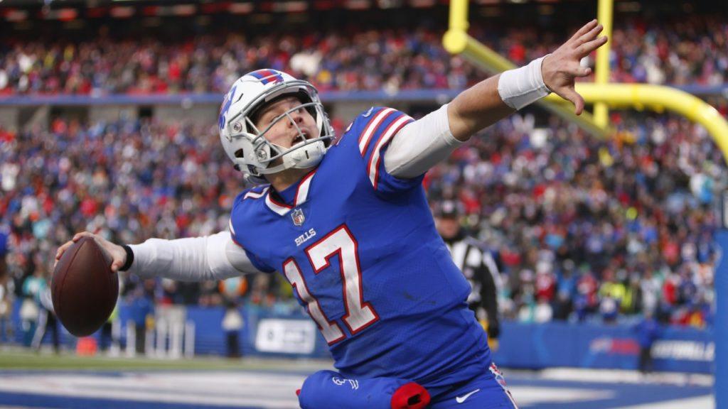 Josh Allen 2020 NFL MVP race