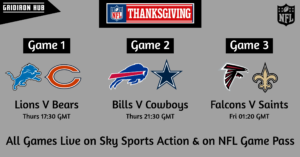 NFL Thanksgiving 2019