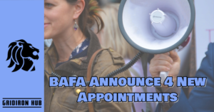 BAFA Announce 4 New Appointments