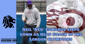 Neil 'Neo' Edwards steps down as Head Coach of the London Olympians