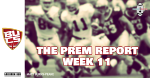 The Prem Report Wk 11 - The Drop Back