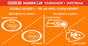 Madden 20 T1 - DH4