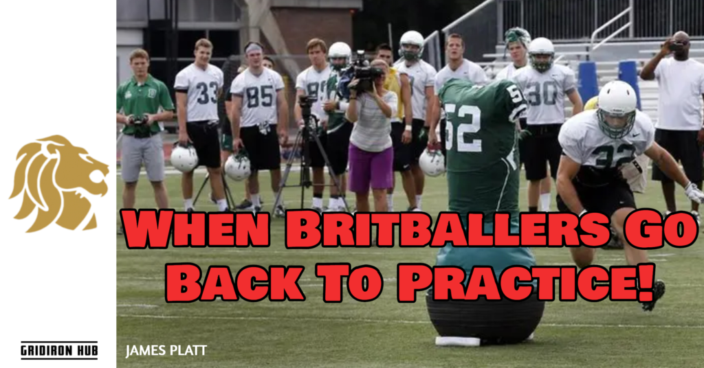britball practice guidelines