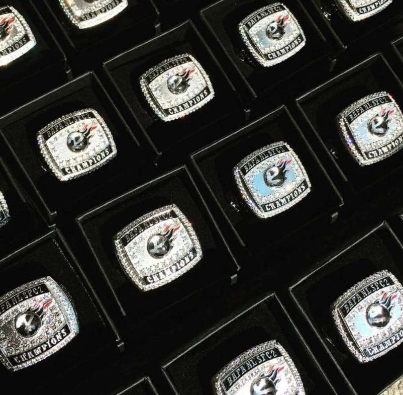 Britball Championship Rings Berkshire Renegades