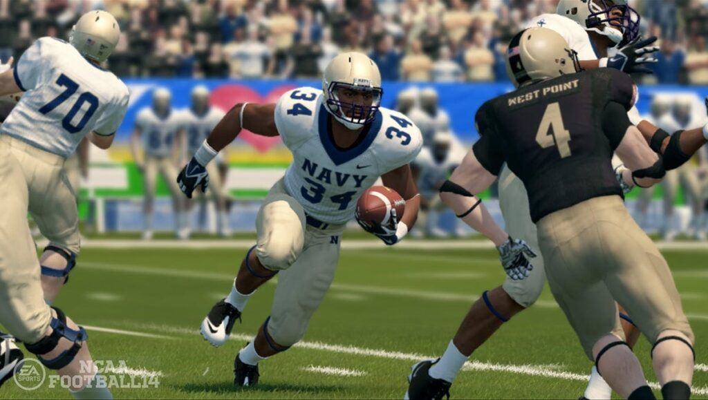 NCAA EA Sports game