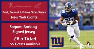Saquon Barkley Signed Giants Jersey