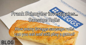 How many Greggs sausage rolls can you eat and still play a game_