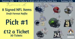 8 NFL Item Draft Raffle - Pick 1