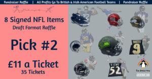 8 NFL Item Draft Raffle - Pick 2